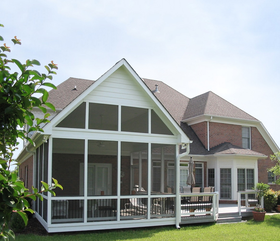 Akron Deck and Screened Porch Combination