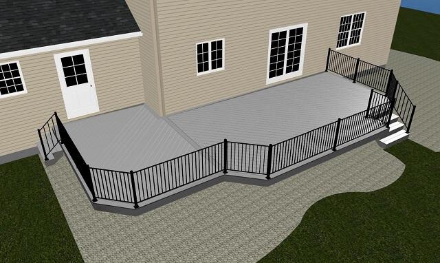 Deck 3D design