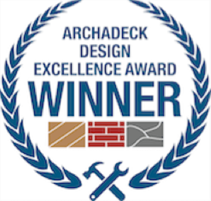 Archadeck design award winner