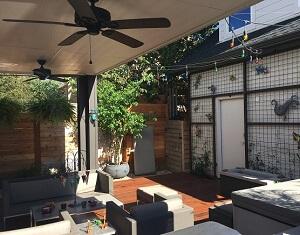 East Austin Covered Porch Builder