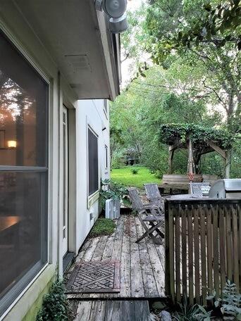 Old backyard deck