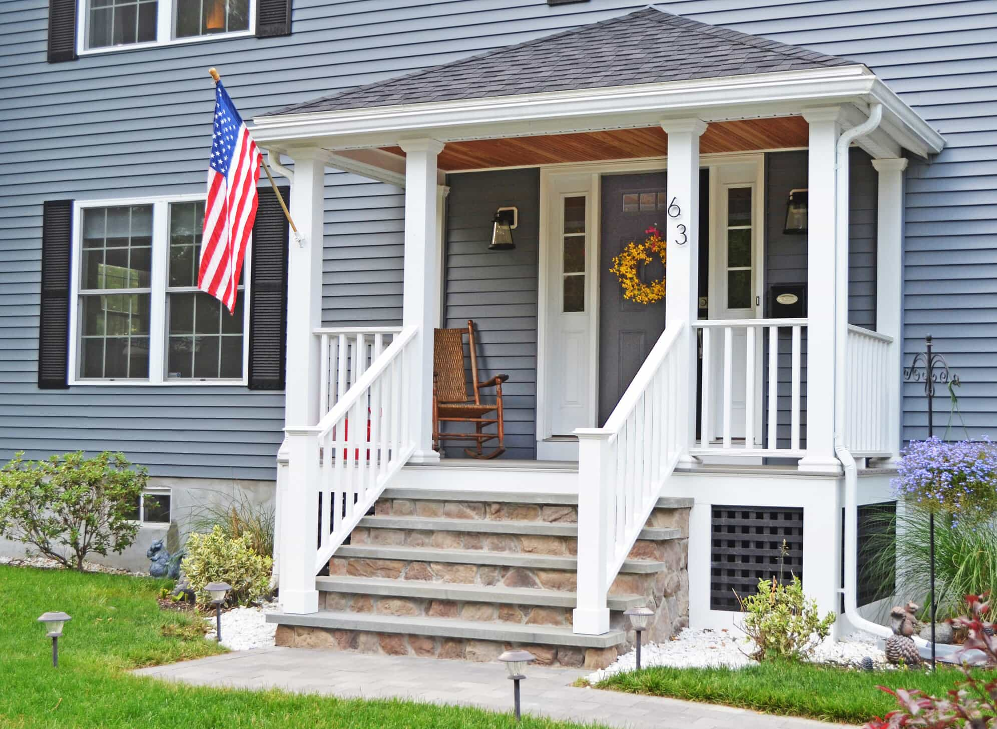 porch on house