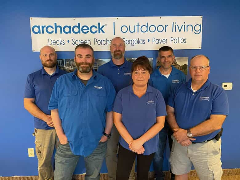 The Archadeck of Columbus Team.