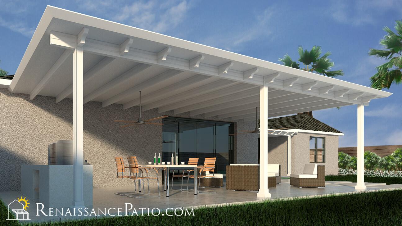 Patio with pergola design
