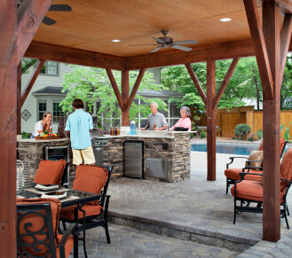 Archadeck of Central SC outdoor kitchens