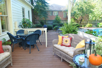 Columbia SC deck gets a makeover and a new pergola addition