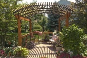 Garden Pergola Retreat