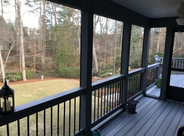 Irmo SC screened porch builder