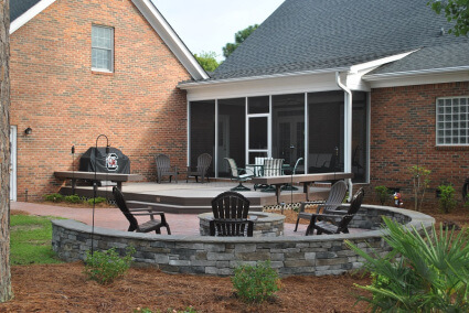 Recently completed project near Lake Murray, SC.