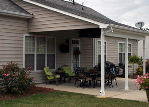 Catawba back porch with covering