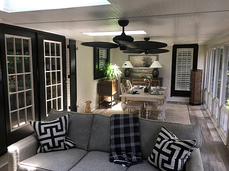 Custom 3 season porch