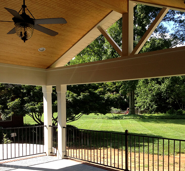 Matthews NC Covered Porch by Archadeck of Charlotte