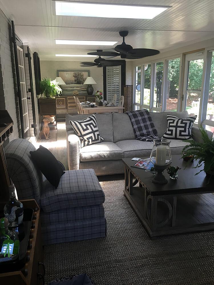 Custom porch