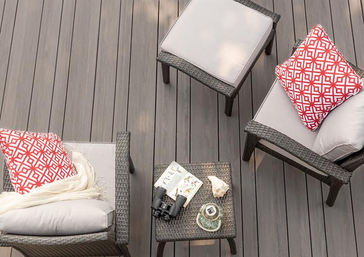 TimberTech deck board widths