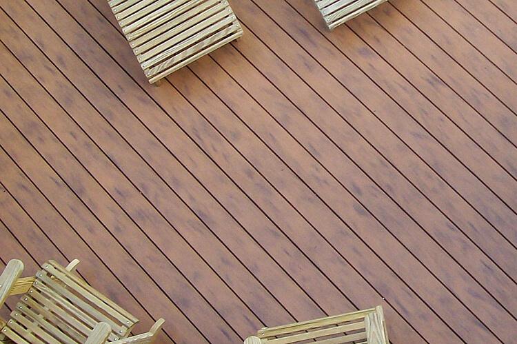 Deck floor details