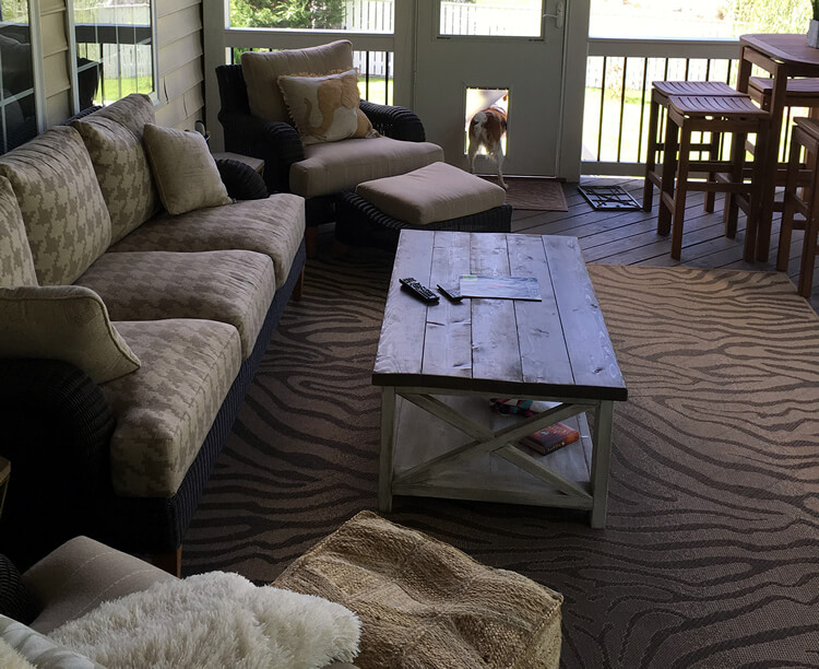 Pet Friendly Charlotte Screened Porch by Archadeck of Charlotte