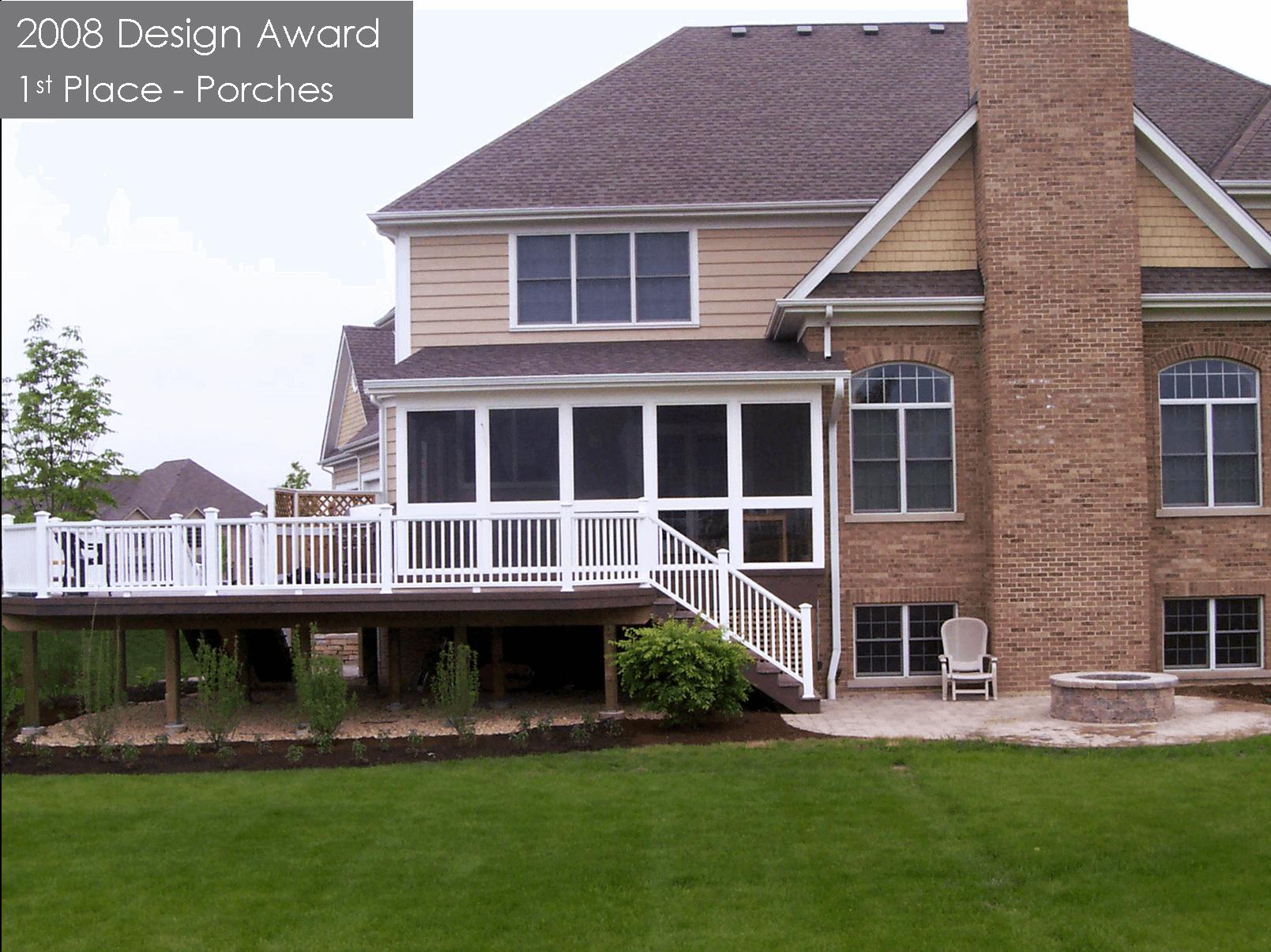 2008 award for porch design