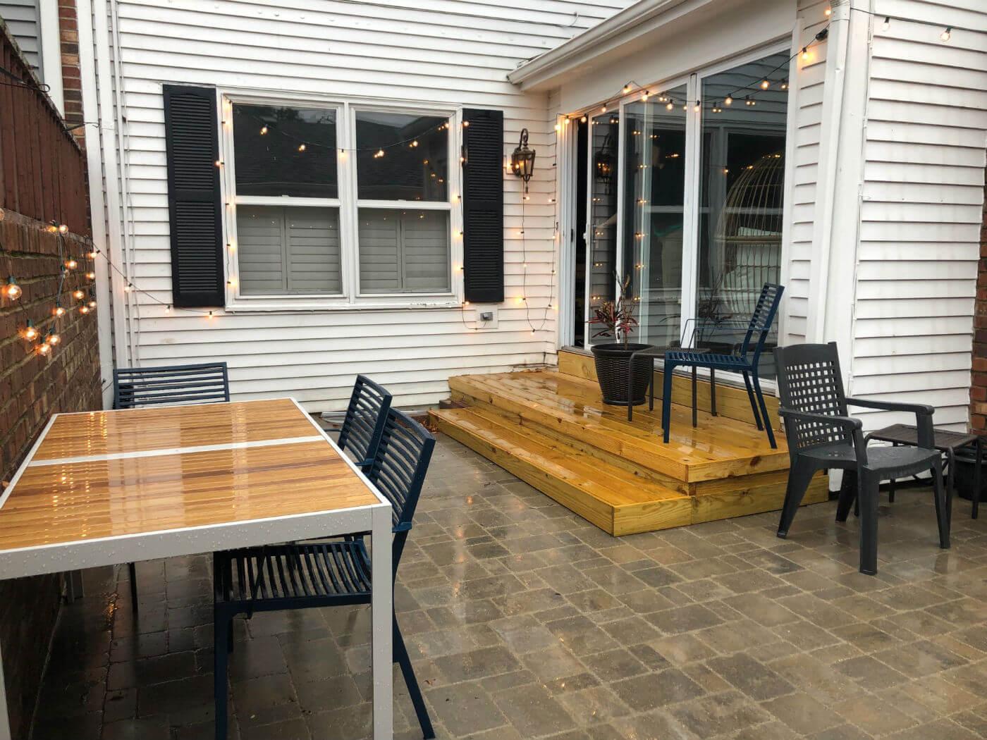 Belgard patio in Naperville IL