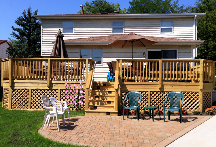 prepare deck and patio for winter