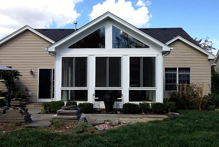 screened porch design