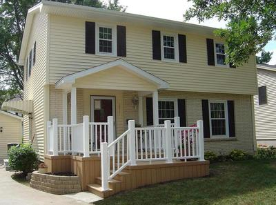 extended front porch