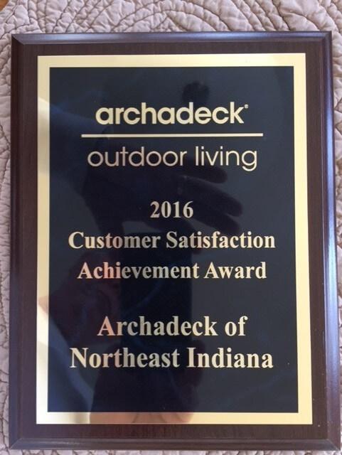Customer achievement award
