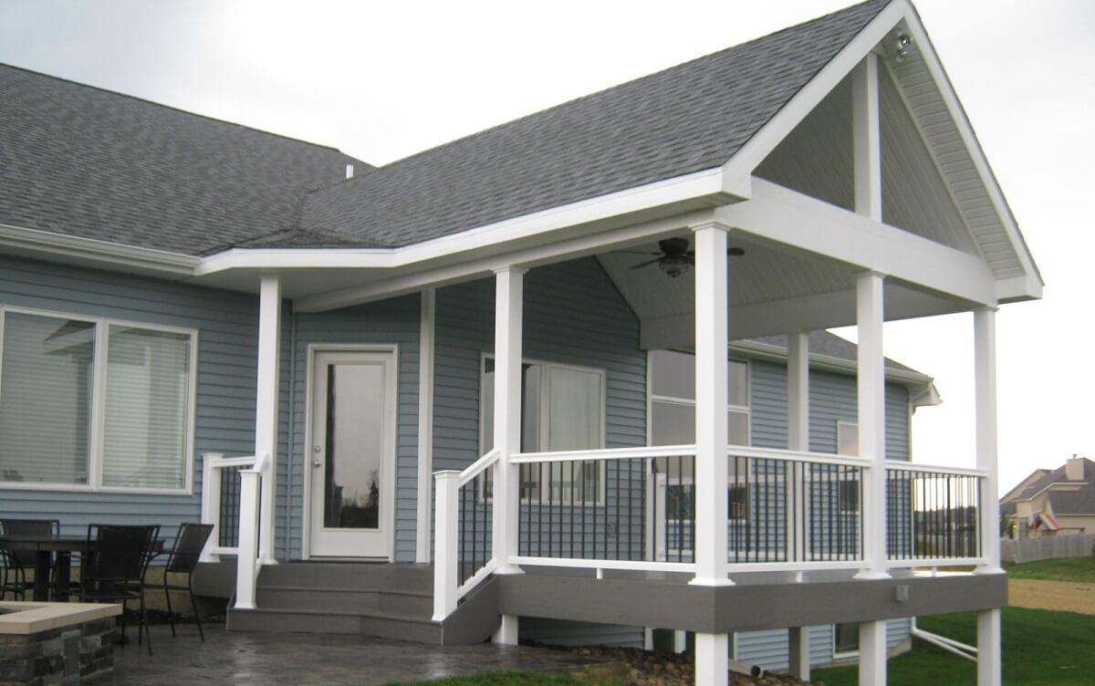 Custom deck and patio