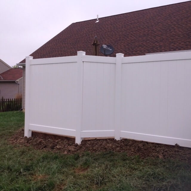 Patio privacy wall