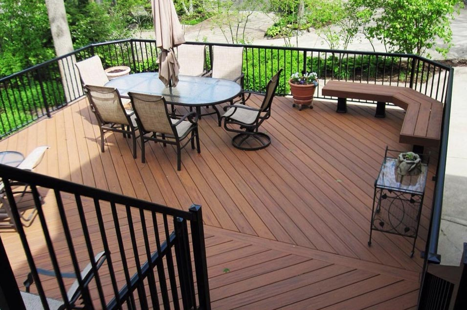 Composite deck builder