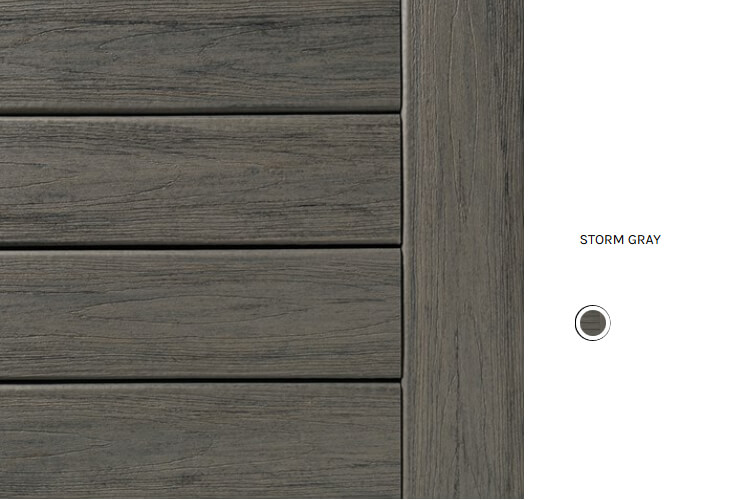 Storm Gray deck