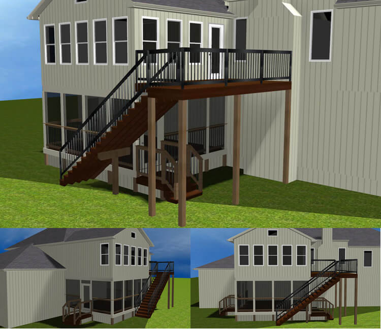 Sunroom design render