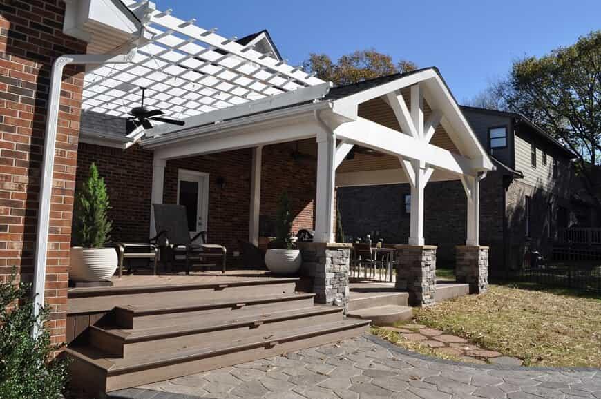 Columbia TN outdoor living combination