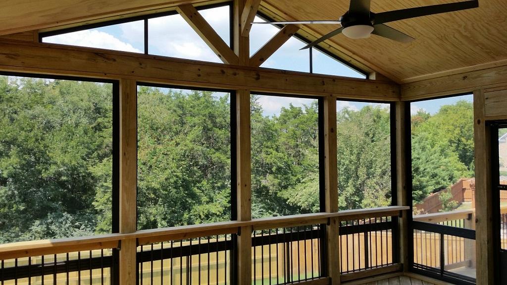 Interior of Eze Breeze Porch in Nolensville TN