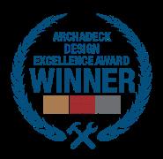 Design excellence award winner seal