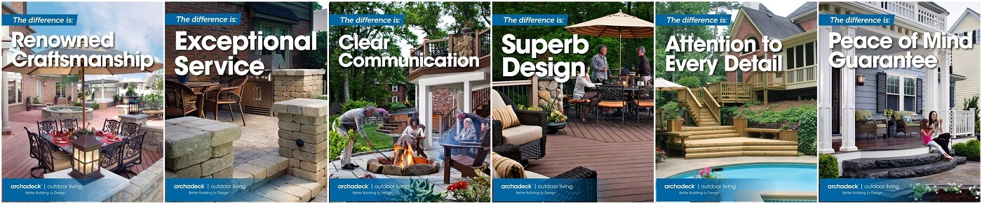 The Archadeck Difference project banner