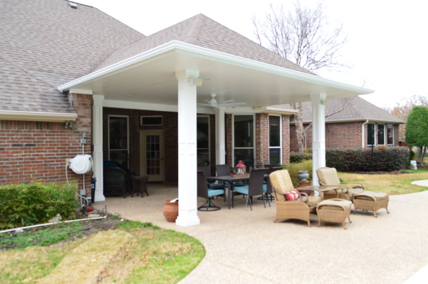 Covered Patio And Outdoor Sitting