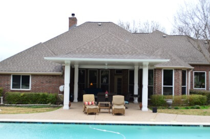 Poolside Covered Patio