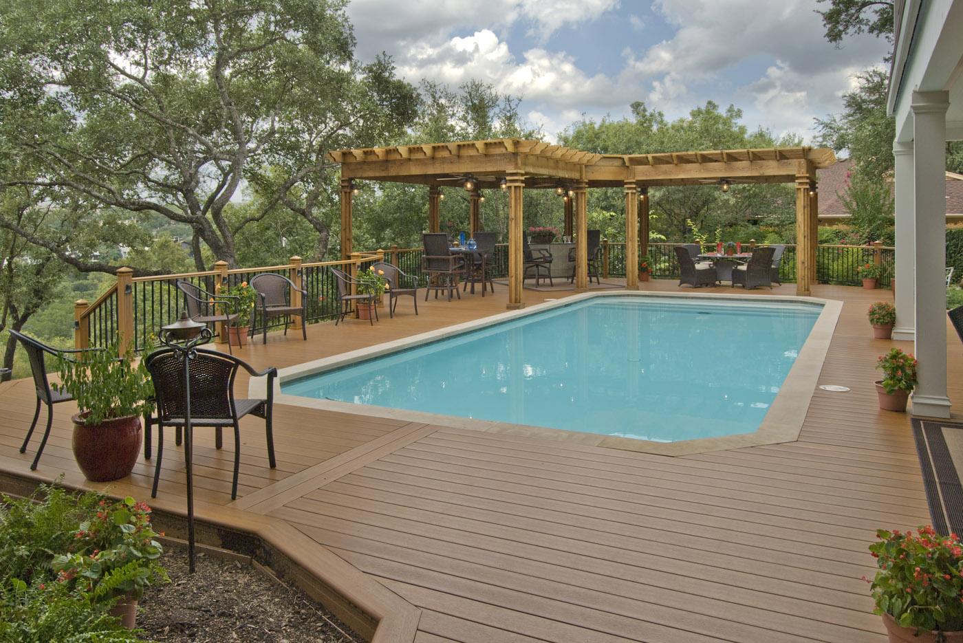 AZEK Pool Deck