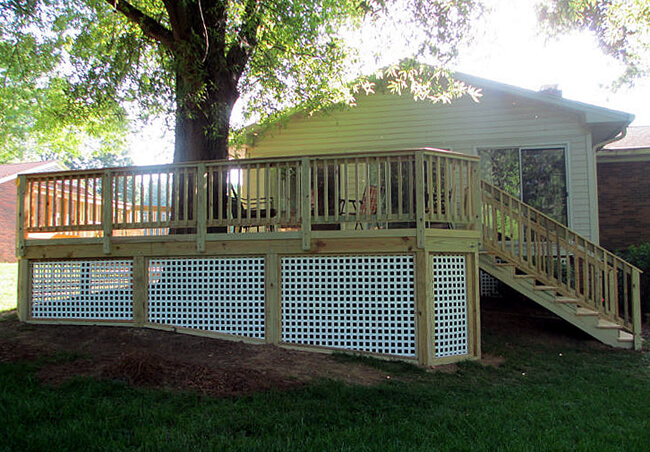 deck in Kernersville NC