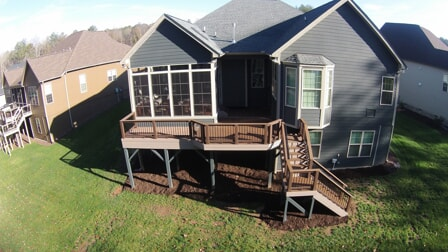 custom outdoor deck