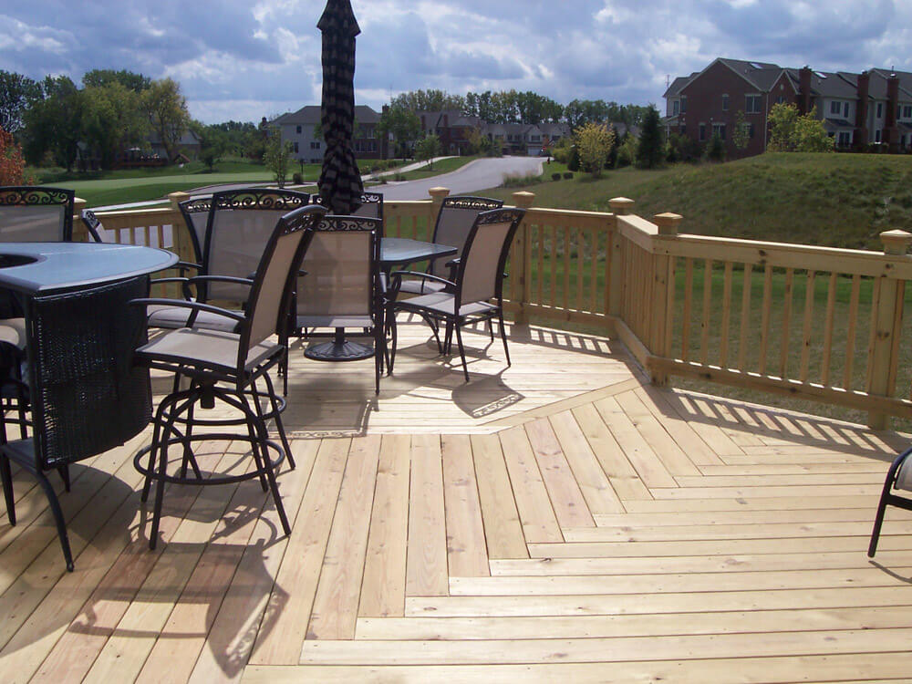 Pressure Treated Decks Need to Dry Before Staining
