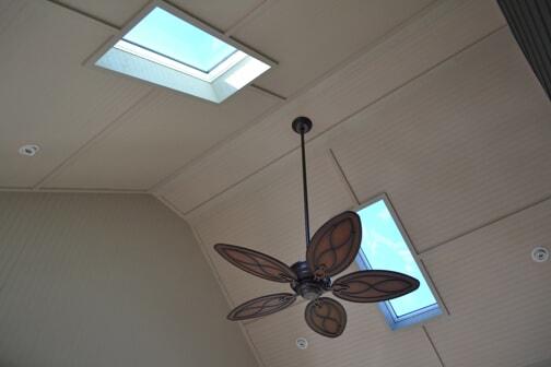 skylights in eze breeze porch