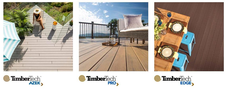 TimberTech product line