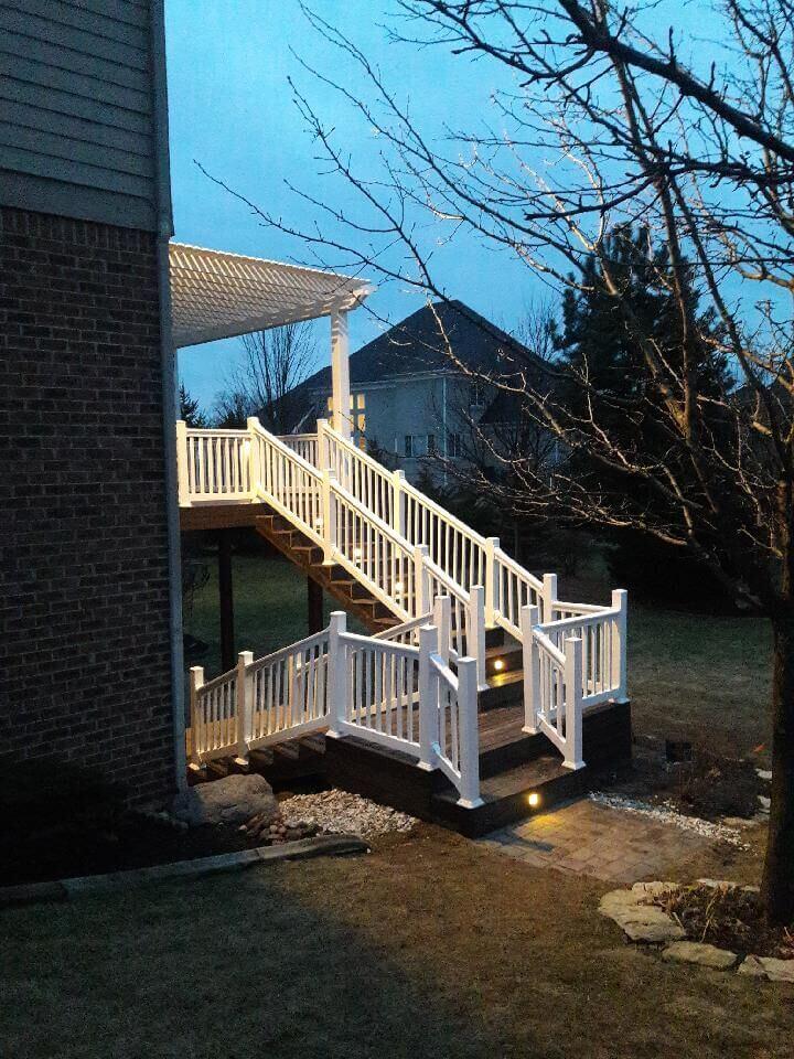 deck pergola and patio