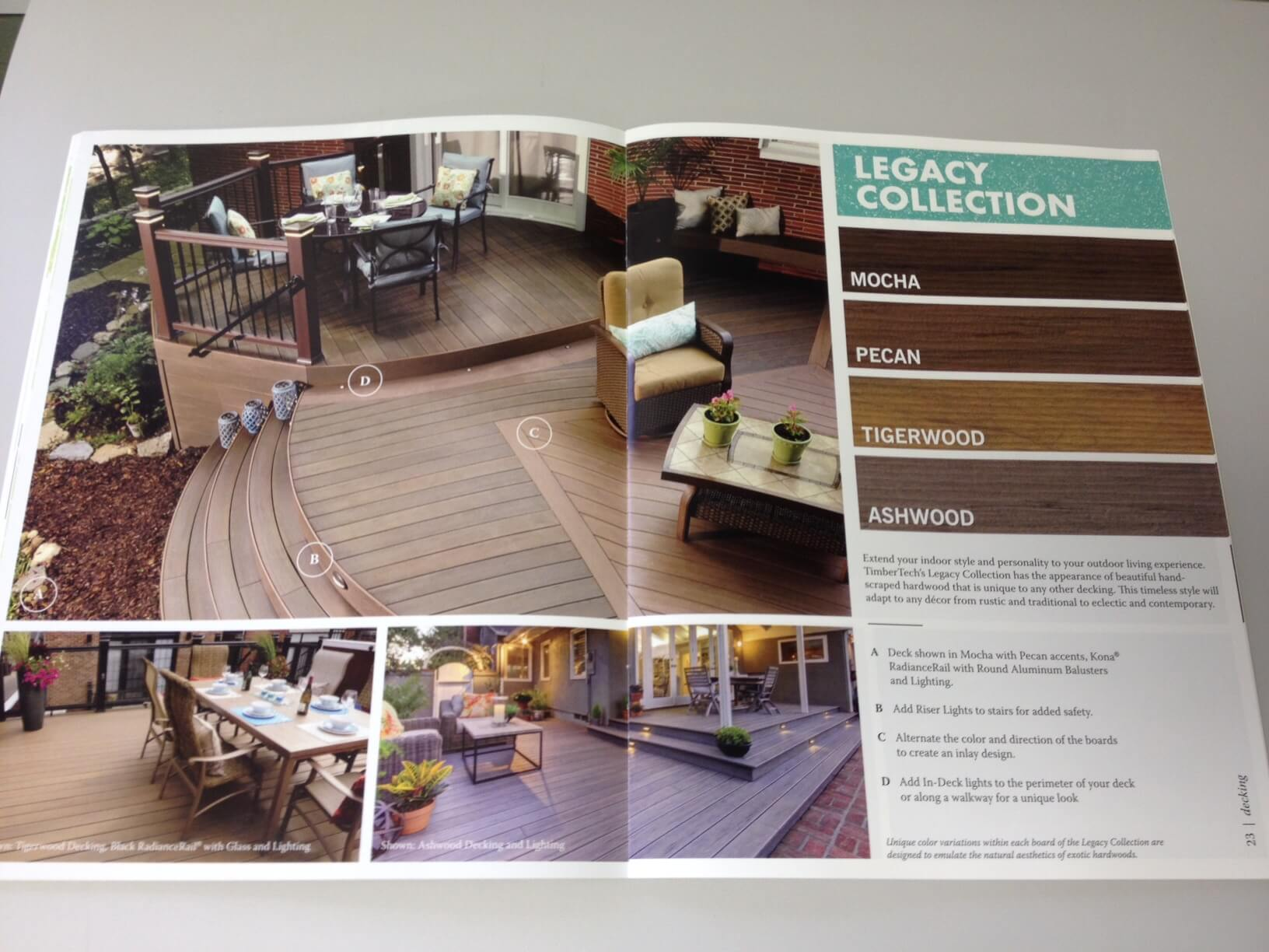 decking catalog