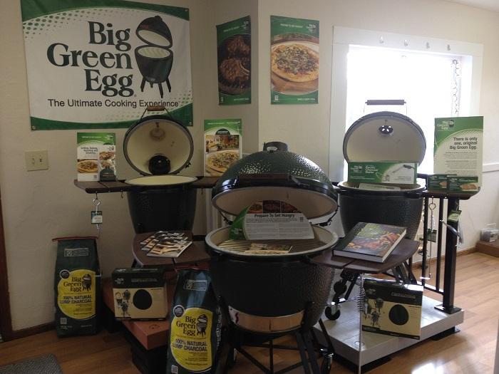 Green Egg ceramic cooker