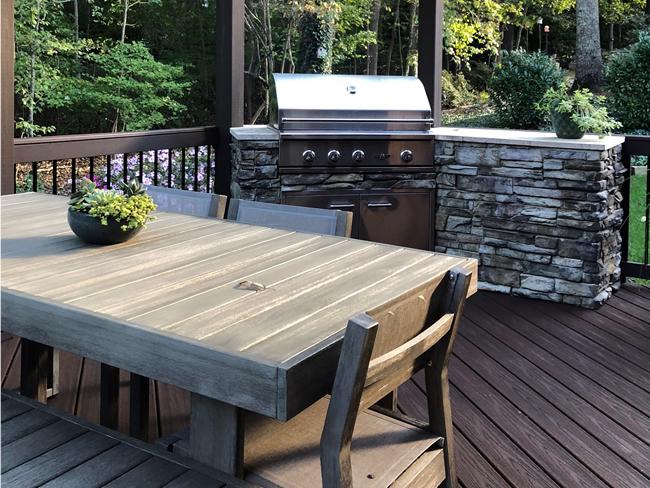Colorado Springs Deck Builder Outdoor Kitchen