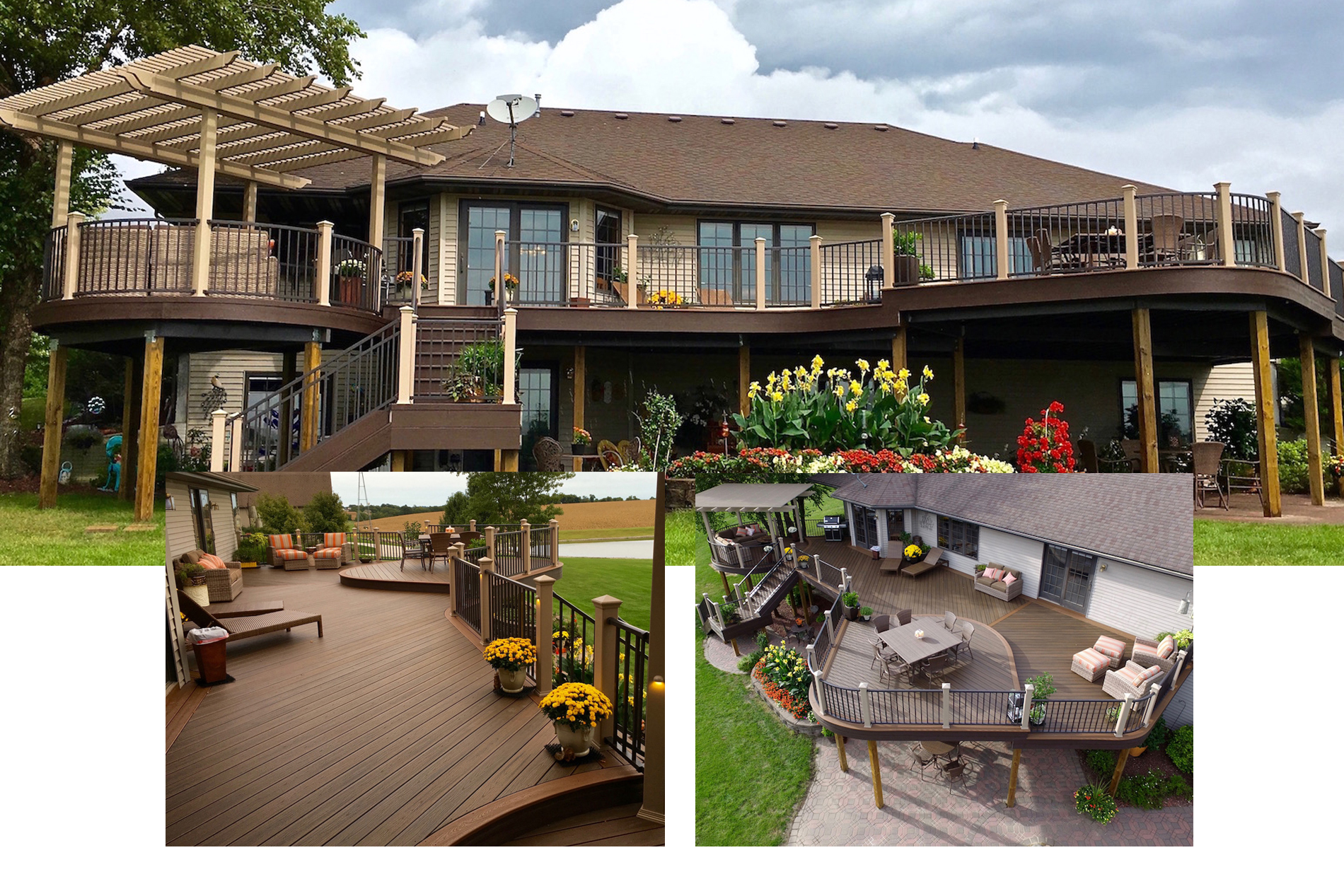 Composite deck builder project.