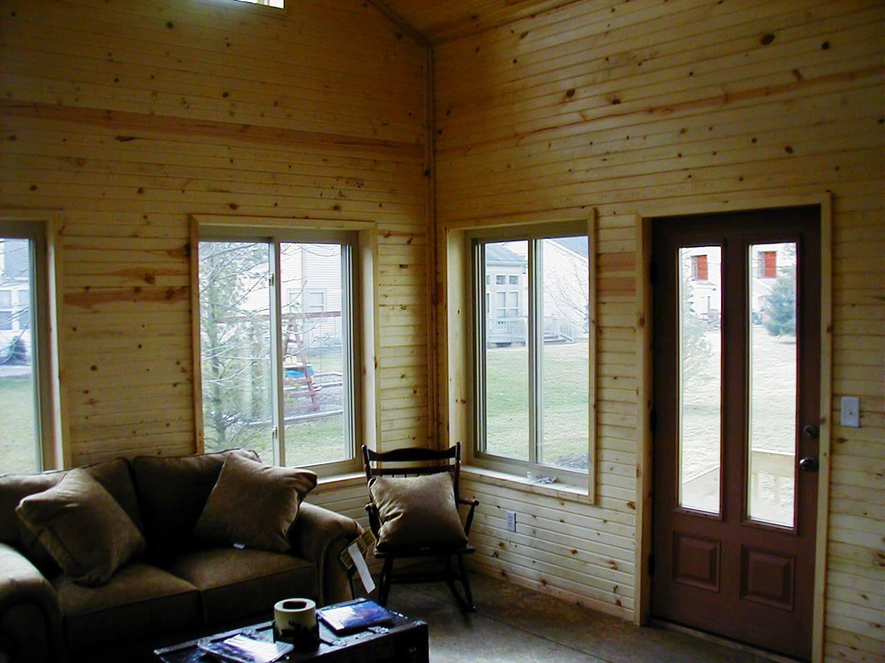Custom sun room