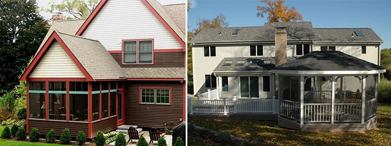 beautiful homes with 3-season porches
